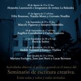 """<em>La balandra</em> participó del Ciclo """"Escrituras en Puán"""""""